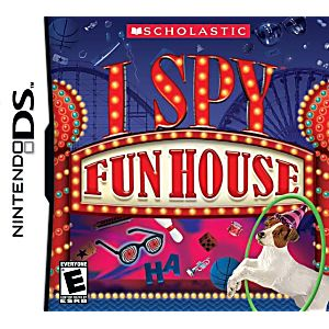 I Spy Funhouse DS Game