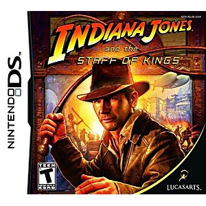 Indiana Jones and the Staff of Kings DS Game