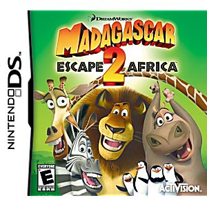 Escape 2 Africa DS Game