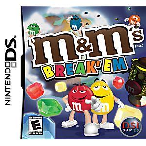 M&M's Break'Em DS Game