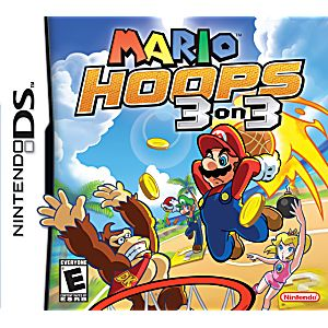 Mario Hoops 3 on 3 DS Game