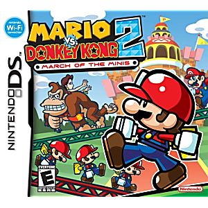 Mario vs Donkey Kong 2 March of Minis DS Game