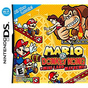 Mario vs. Donkey Kong Mini-Land Mayhem DS Game