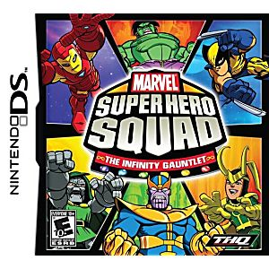 Marvel Super Hero Squad: The Infinity Gauntlet DS Game