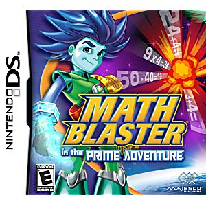 Math Blaster in the Prime Adventure DS Game
