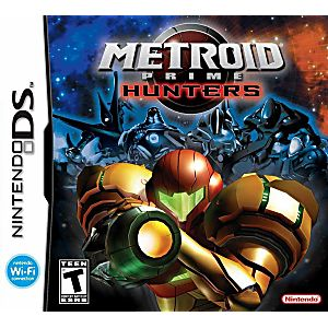 Metroid Prime Hunters DS Game