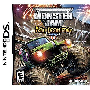 Monster Jam: Path of Destruction DS Game