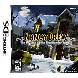 Nancy Drew The Mystery of the Clue Bender Society DS Game