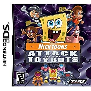 Nicktoons Attack of the Toybots DS Game