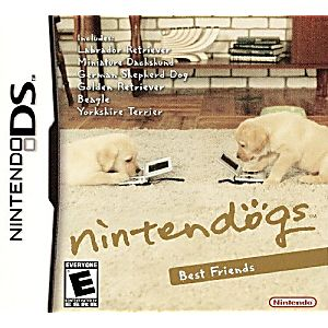 Nintendogs Best Friends DS Game