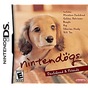 Nintendogs Dachshund and Friends DS Game