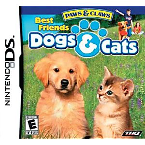 Paws and Claws Dogs and Cats Best Friends DS Game
