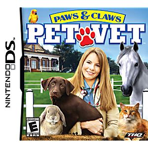 Paws & Claws Pet Vet DS Game