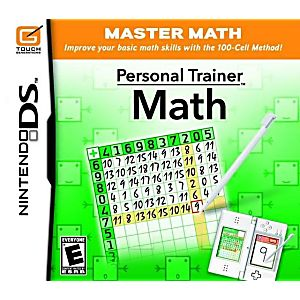 Personal Trainer Math DS Game