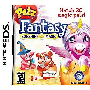 Petz Fantasy: Sunshine Magic DS Game