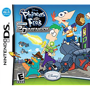 DS Phineas and Ferb: Across the 2nd Dimension