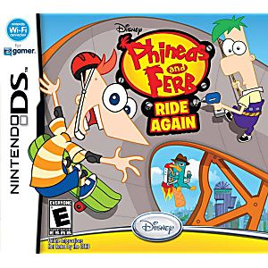 Phineas and Ferb Ride Again DS Game