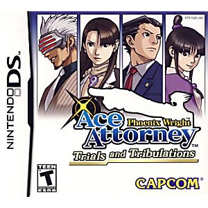 Phoenix Wright Ace Attorney Trials and Tribulations DS Game