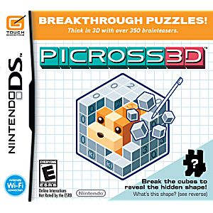 Picross 3D DS Game