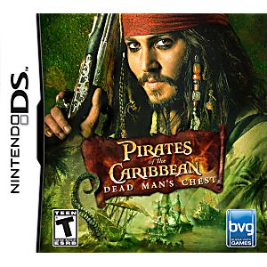 Pirates of the Caribbean Dead Mans Chest DS Game