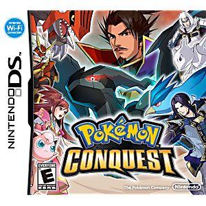 DS Pokemon Conquest