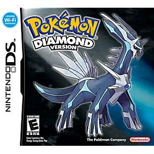 Pokemon Diamond DS Game