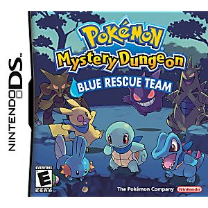 Pokemon Mystery Dungeon Blue DS Game