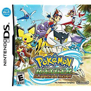 Pokemon Ranger: Guardian Signs DS Game
