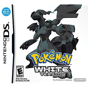 Pokemon White DS Game