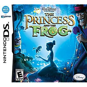 The Princess and the Frog DS Game