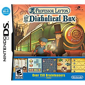 Professor Layton and The Diabolical Box DS Game
