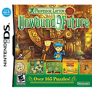 Professor Layton and the Unwound Future DS Game