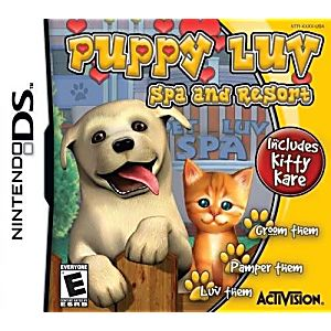 Puppy Luv Spa & Resort DS Game