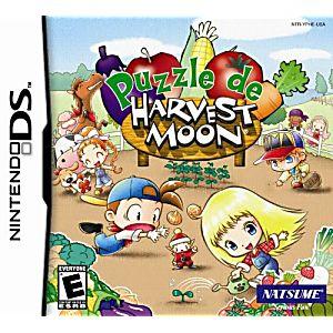 Puzzle de Harvest Moon DS Game
