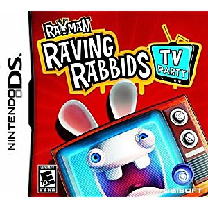 Rayman Raving Rabbids TV Party DS Game