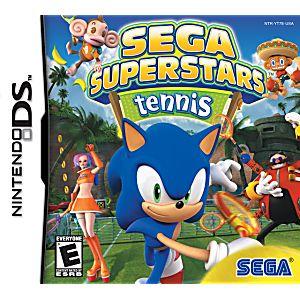 Sega Superstars Tennis DS Game