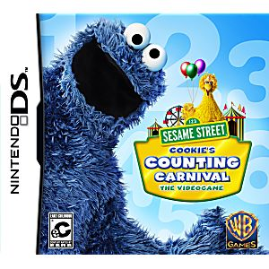 Sesame Street: Cookie's Counting Carnival DS Game