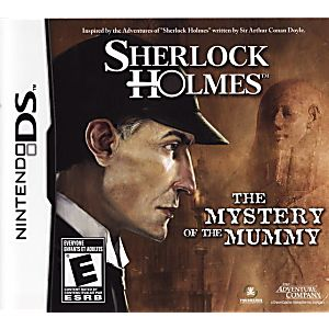 Sherlock Holmes: The Mystery of the Mummy DS Game