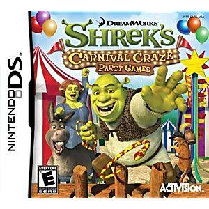 Shrek's Carnival Craze DS Game
