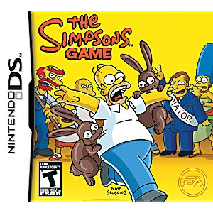The Simpsons Game DS Game