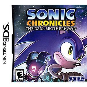 Sonic Chronicles The Dark Brotherhood DS Game