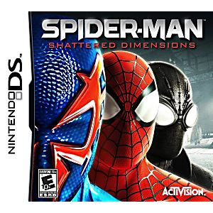 Spider-Man: Shattered Dimensions DS Game