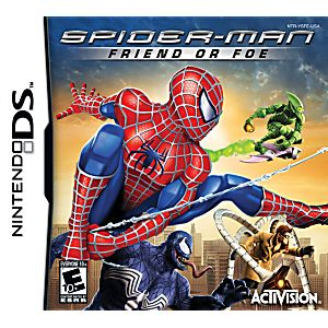 Spiderman Friend or Foe DS Game