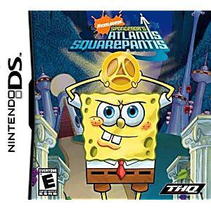 SpongeBob SquarePants Atlantis SquarePantis DS Game