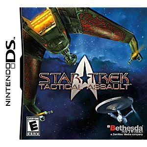 Star Trek Tactical Assault DS Game