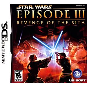 Star Wars Revenge of the Sith DS Game