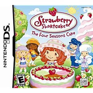 Strawberry Shortcake Four Seasons Cake DS Game