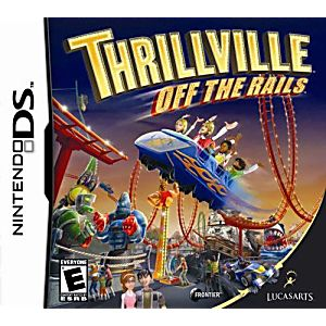 Thrillville Off The Rails DS Game
