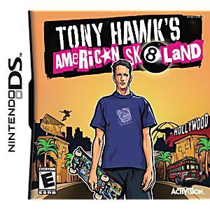 Tony Hawk American Skateland DS Game