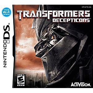 Transformers Decepticon DS Game